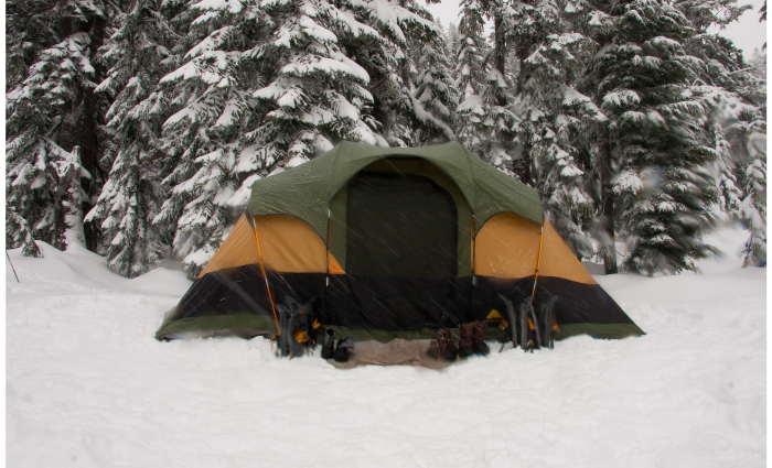 Making A Tent Waterproof?