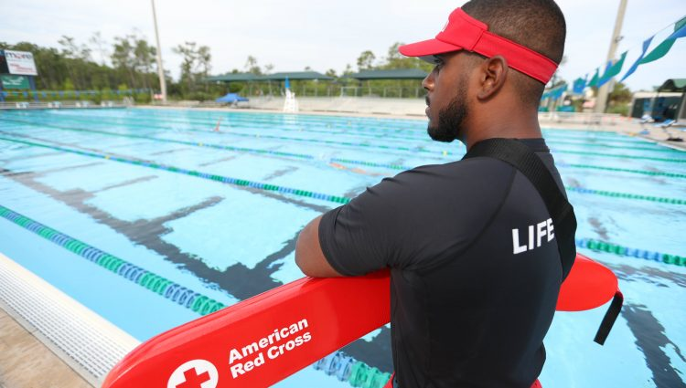 American Red Cross Lifeguarding Program